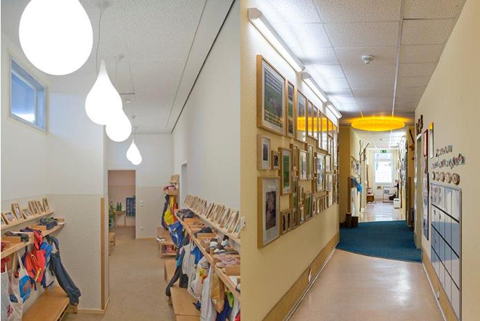 Kindergartenbeleuchtung Mit Tageslichtlampen